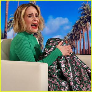 Sarah Paulson Gets Scared by Ellen DeGeneres Twice, Fails to Get Revenge (Video)