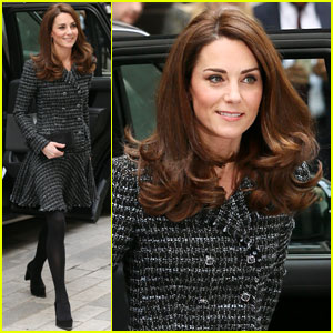 Duchess Kate Middleton Wears a Chic Tweed Look for Mental Health in Education Conference