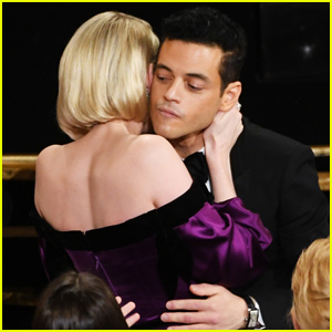 Rami Malek & Lucy Boynton Share Passionate Kiss After Winning Best Actor at Oscars 2019