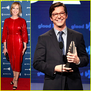 Sean Hayes Drags Jussie Smollett During Speech at GLAAD Media Awards