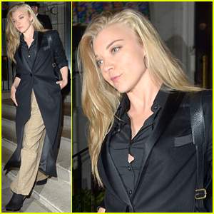 Game of Thrones' Natalie Dormer Enjoys a Night Out in London