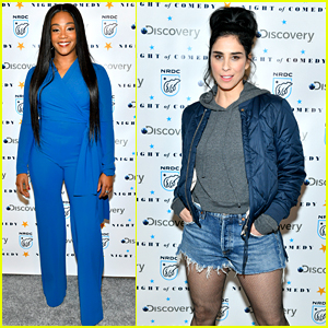 Tiffany Haddish & Sarah Silverman Join All Your Favorite Comedians for a 'Night of Comedy'