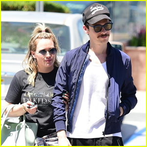 Hilary Duff & Fiance Matthew Koma Couple Up for Day Out in Studio City