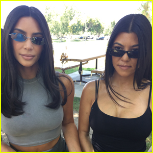 Kim & Kourtney Kardashian Attend Santa Susana Field Lab Meltdown Anniversary Event