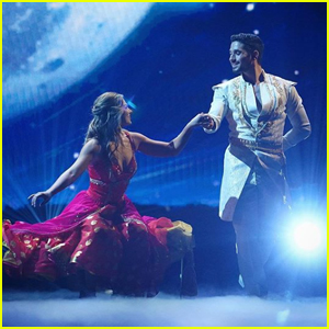 Hannah Brown Is Princess Jasmine During 'DWTS' Disney Night - Watch!