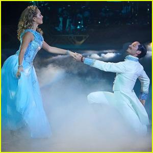 Sailor Brinkley-Cook Channels Cinderella During 'DWTS' Disney Night - Watch!