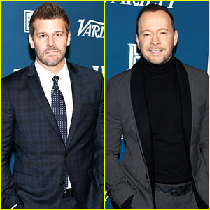 David Boreanaz & Donnie Wahlberg Are Honored at Variety's Salute to Service