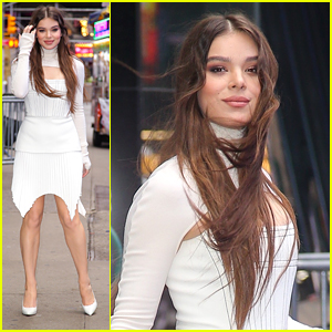 Hailee Steinfeld Stuns in All White For Appearances in NYC