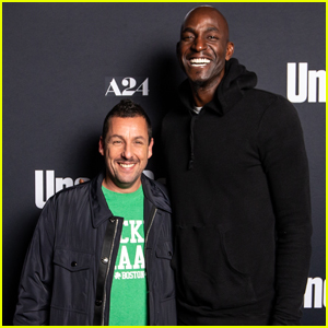Adam Sandler is Joined by Co-Star Kevin Garnett at 'Uncut Gems' Premiere in Boston