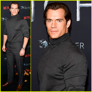 Henry Cavill's Muscles Fill Out His Turtleneck Sweater at 'The Witcher' Premiere!