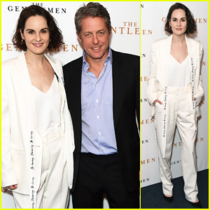 Michelle Dockery & Hugh Grant Team Up for 'The Gentlemen' Screening in London - Watch Trailer!