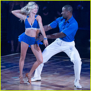 Image result for Calvin Johnson & Lindsay Arnold