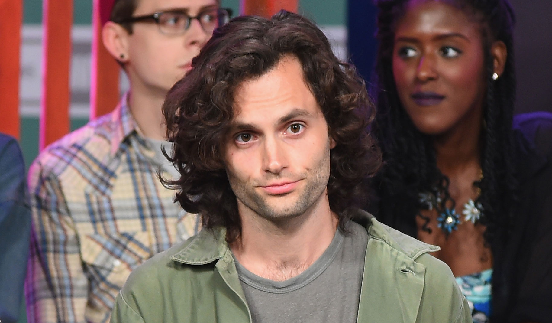 Gossip Girls Penn Badgley Looks So Different Newsies