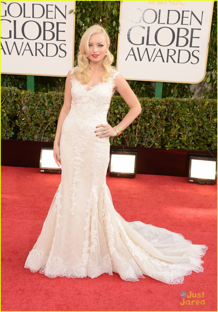 francesca eastwood golden globes 04