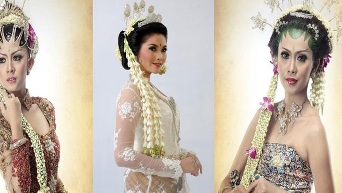 Pakaian Pengantin Wanita Pada Pernikahan Adat Sunda Solo Dan Jogja