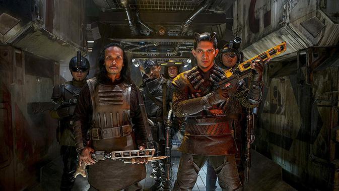 Iko Uwais, Yayan Ruhian, Star Wars: The Force Awakens, image: IMDB