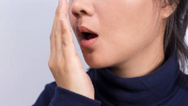 Ilustrasi bau mulut