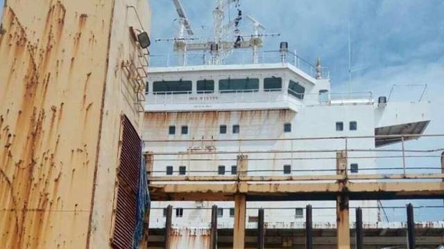 Kapal hantu asal Indonesia ini muncul tiba-tiba di perairan Myanmar