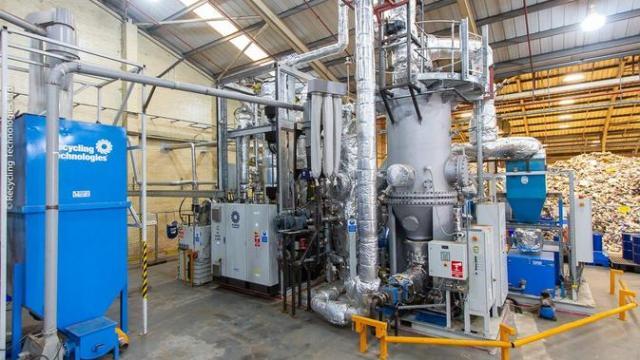 Perusahaan Recycling Technologies di Inggris (sumber: Recycling Technologies)