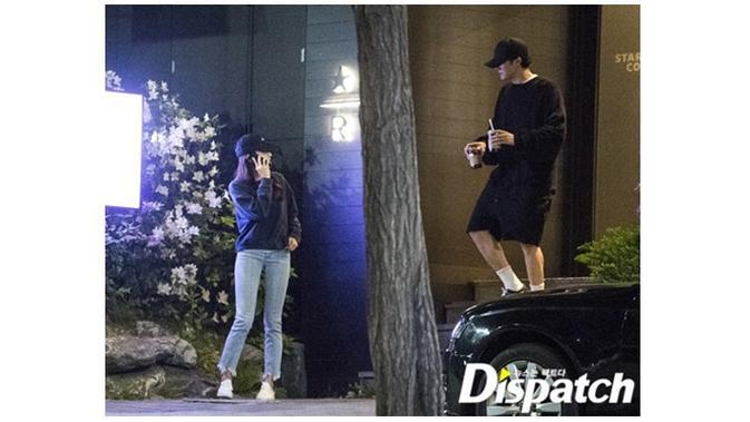 So Ji Sub dan Jo Eun Jung (Sumber: Dispatch)