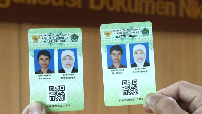 Cek Fakta Kementerian Agama Buat Kartu Nikah Dengan 4 Kolom Istri