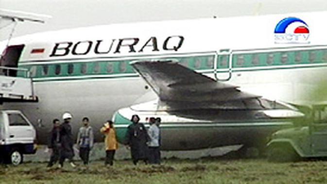 Bouraq Tergelincir Di Bandara Hasanuddin News Liputan6 Com