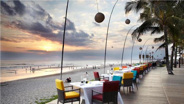 Ilustrasi Restoran Gaya Cafe