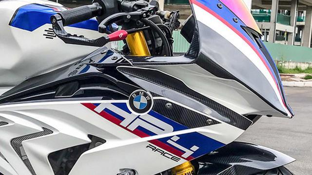 Yamaha YZF-R15 disulap menjadi BMW HP4 Race