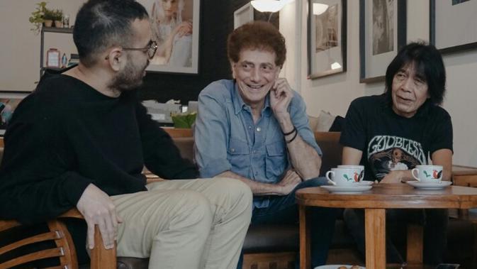 Ahmad Albar dan Ian Antono Kolaborasi dengan Kemal Palevi.
