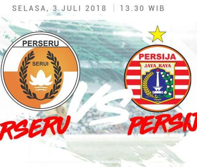 Liga  Persija Dibungkam Perseru   Bola Liputan Com