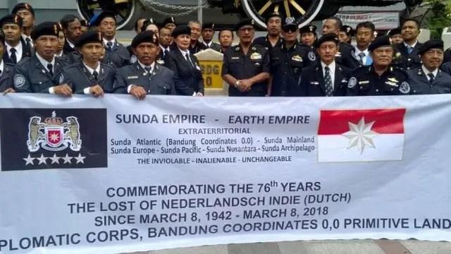 Ini Temuan Polisi soal Kekaisaran Sunda Empire di Bandung