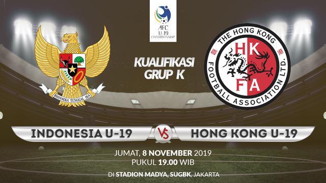 Indonesia U-19 vs Hong Kong U-19