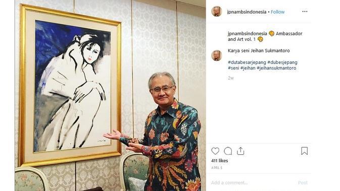 Dubes Jepang Untuk RI - Ambassador Ishii Masafumi (Sumber: Instagram/jpnambsindonesia)