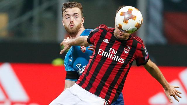 Gol Mkhitaryan dan Ramsey Antar Kemenangan Arsenal di Kandang AC Milan