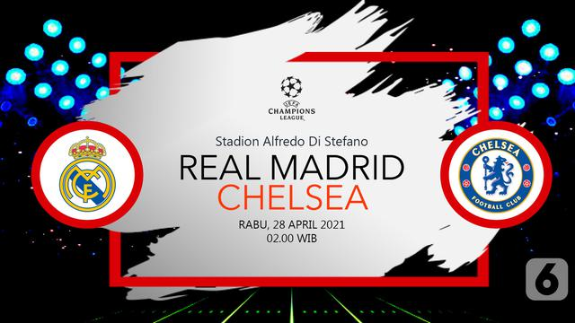 Segera Bertanding, Link Live Streaming Liga Champions Real ...