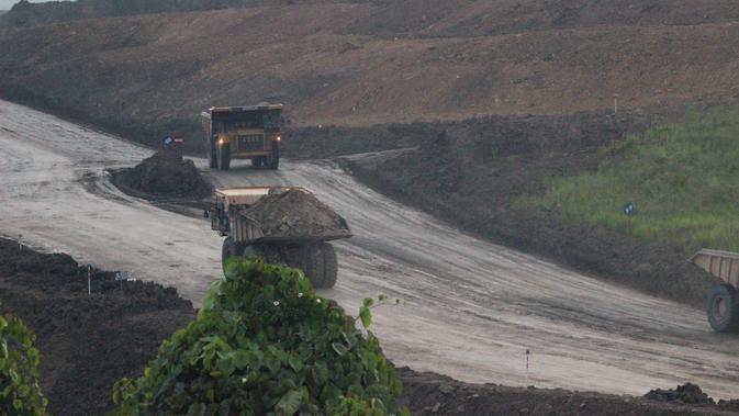 Pertambangan batu bara di Kutai Kartanegara Kalimantan Timur. (Liputan6.com/ Abelda Gunawan)