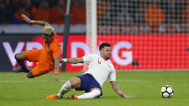 Belanda, Inggris, Lga Uji Coba