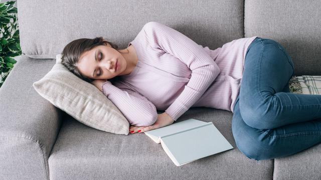 Ilustrasi tidur siang (iStockphoto)