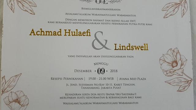 Kata Kata Undangan Pernikahan Islami Dan Kata Mutiara Indah