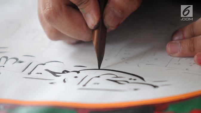 Cara Membuat Kaligrafi Untuk Anak Sd