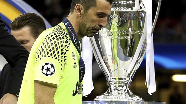 Gianluigi Buffon, Juventus, Liga Champions