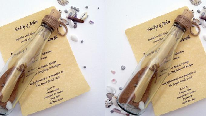 Contoh Undangan Pernikahan Dalam Botol Lifestyle Fimela Com