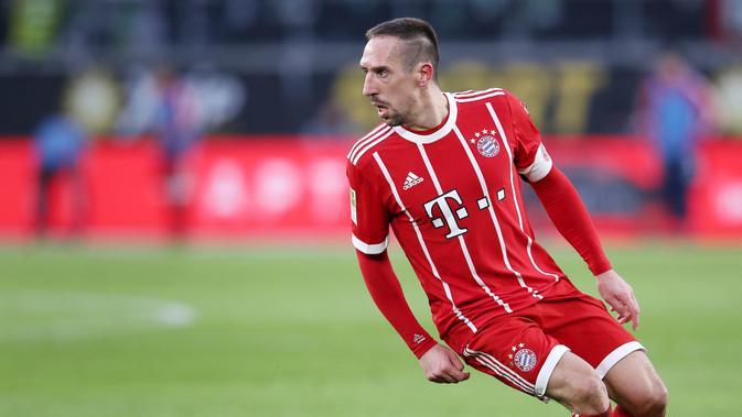 Bintang Bayern Munchen Franck Ribery. (AFP/Ronny Hartmann)
