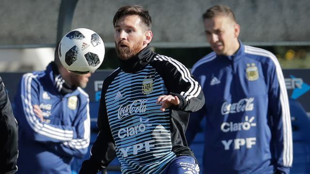 Lionel Messi Mulai Latihan bersama Timnas Argentina