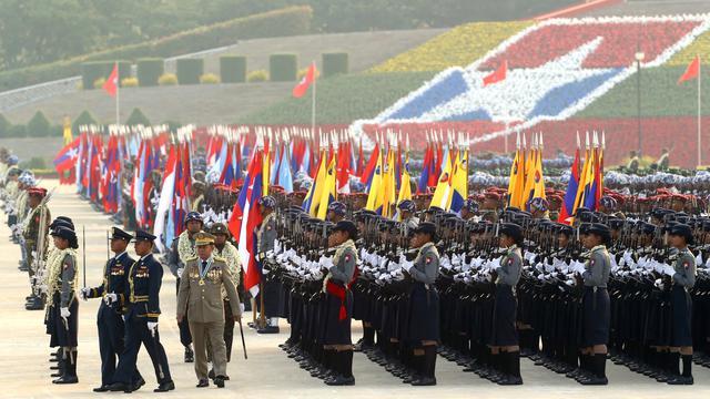 Peringatan HUT Angkatan Bersenjata Myanmar