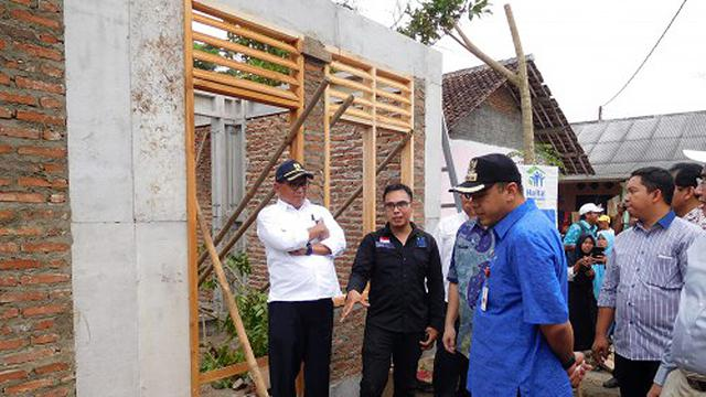 Pemerintah Bangun Rumah Instan bagi Warga di Tangerang