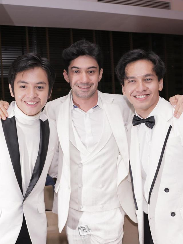Angga Yunanda, Reza Rahadian, dan Jefri Nichol. (Foto: Dok. Instagram @jefrinichol)