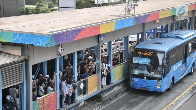 Penumpang Transjakarta