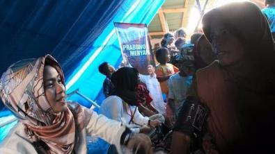 Bantuan kesehatan dari Prabowo kepada korban gempa Lombok (Dok. Istimewa)