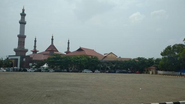 Wajah Baru Alun-Alun Kejaksan Kota Cirebon Ala Ridwan Kamil